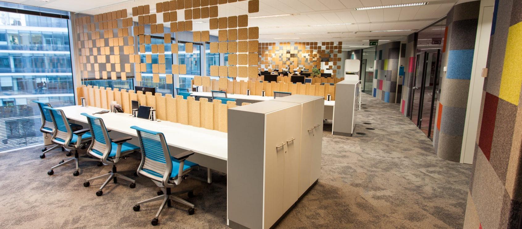 Projektowanie biur i powierzchni komercyjnych