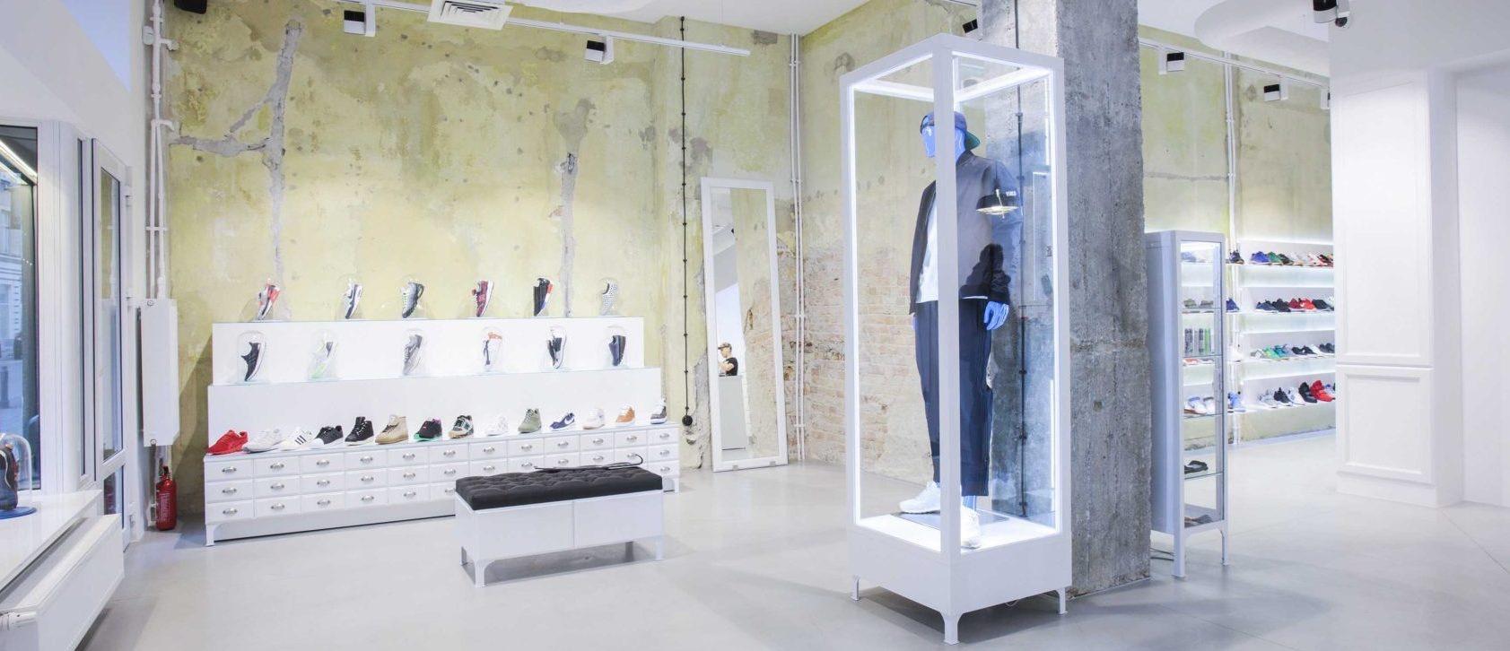 Projektowanie i aranżacja sklepów