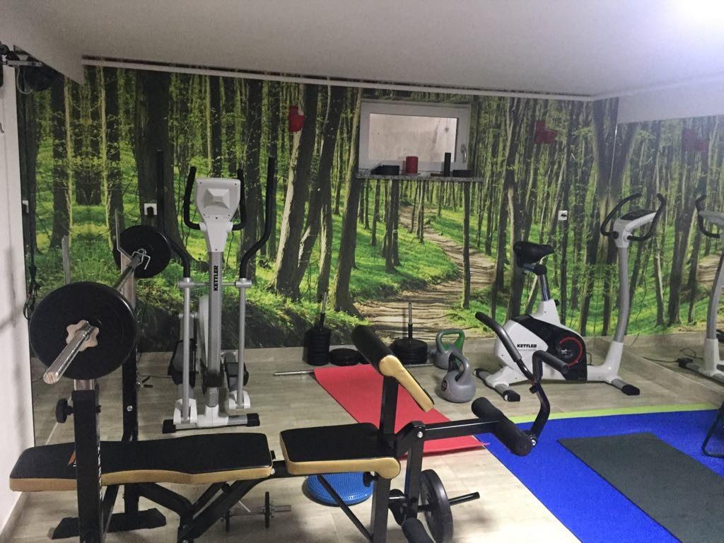 fitness w piwnicy