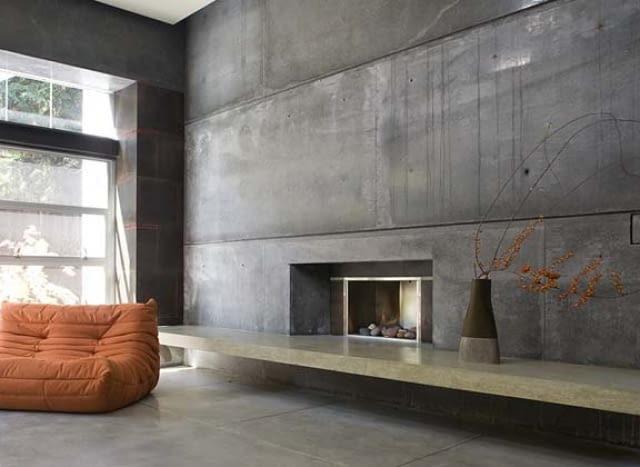 Beton, jako dekoracja we wnętrzach