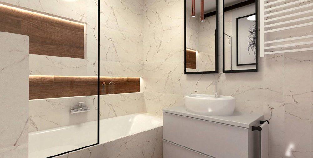 Projekt małej łazienki - jak to zrobić, żeby była funkcjonalna?